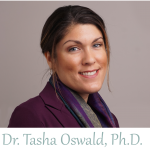 Photo of Dr. Tasha Oswald, Ph.D. therapist and practice owner in the Palo Alto, bay area in Silicon Valley. She is smiling and looking at the camera to convey a welcoming and open presence for neurodiverse clients.