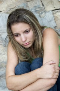 ashamed young adult with autism after group therapy and social skills group in palo alto, ca at open doors therapy 94306